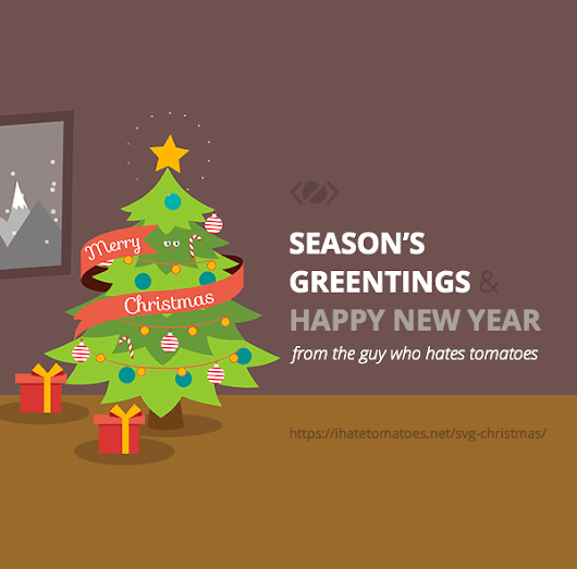 Merry SVG Christmas and Happy New Year