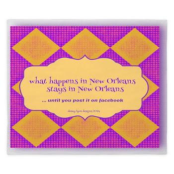 New Orleans Saying King Duvet