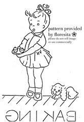 Mailorder 2-948 - little girl pattern