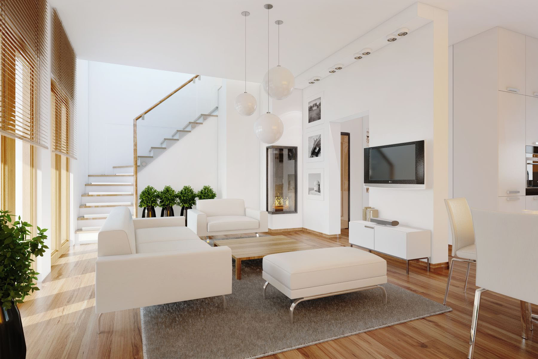 Home Decor: Interior Design Living Room Layout