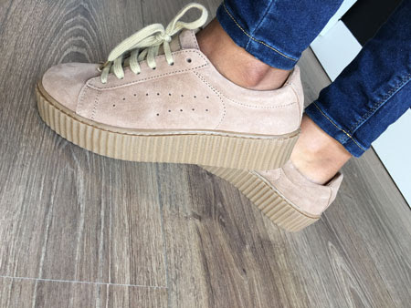 Look Rihanna: Zapatillas creepers