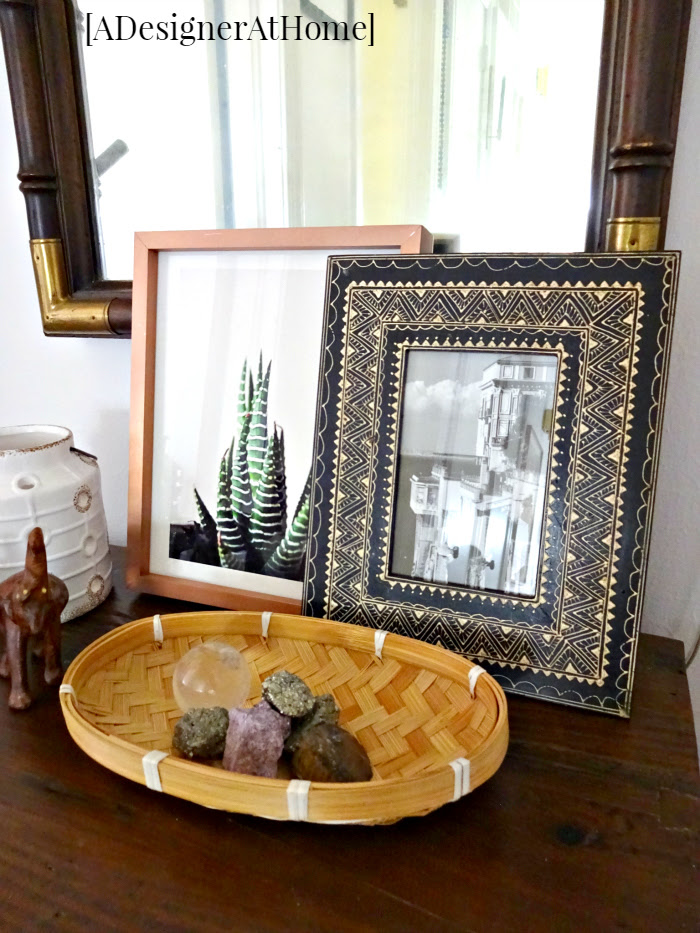 global gypsy bohemian cabinet top decorating