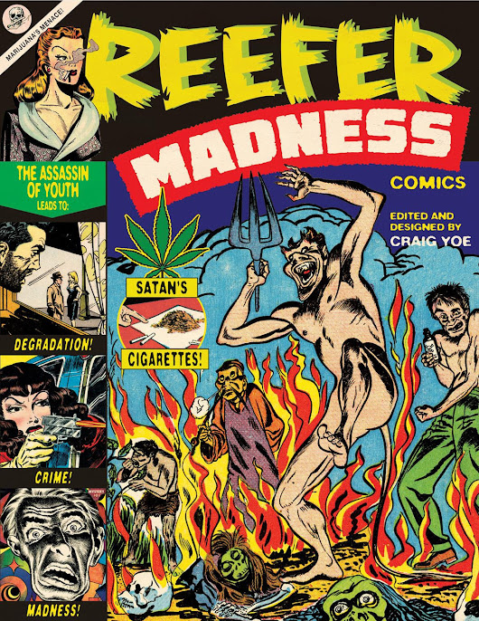 "Dark Horse Warns Against The Dangers of Stan's Cigarettes in ""Reefer Madness"""
