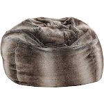 Monroe Bean Bag Gray Taupe - Christopher Knight Home