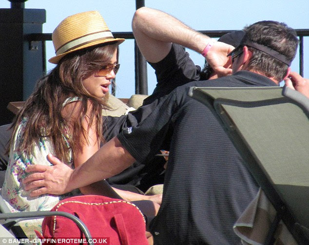 Romantic getaway: Vanessa Minnillo and Nick Lacey were seen enjoying a romantic getaway to Cabo San Lucas, Mexico over the weekend