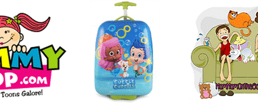Bubble Guppies Luggage Case Giveaway | MomMomOnTheGo.com