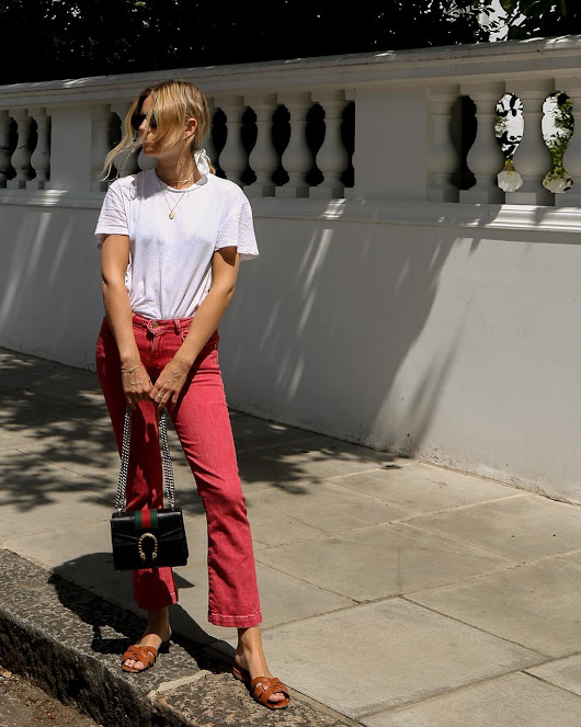20 Summery Colored Denim pieces that even Grown-ups can Wear #fashion #style ...