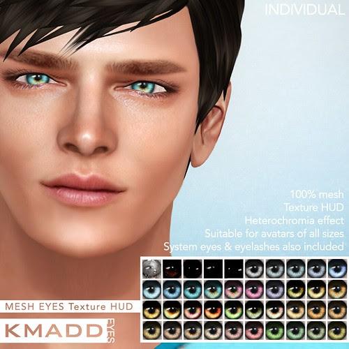 KMADD Mesh Eyes ~ INDIVIDUAL