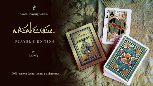ARABESQUE playing cards - Player's edition by Lotrek