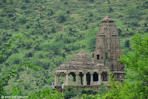 Mangala Mata Temple – Bhangarh Fort. Visiting the most haunted places in India read more  #travel #travelblog...
