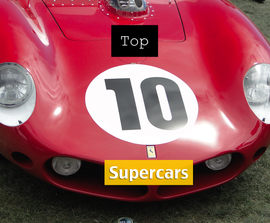 Top 10 Supercars From 2015 Cavallino Classic