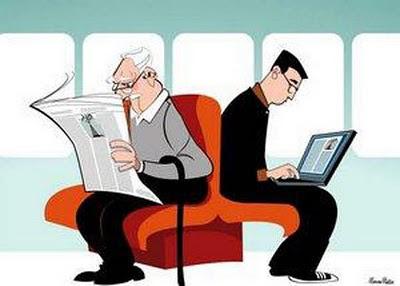 Jornal-impresso-webjornalismo-ilustração