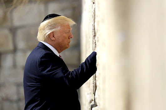 "Trump says Yad Vashem Holocaust memorial was ""so amazing,"" says he will ""never forget"" visit"