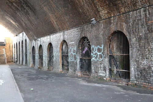 Under Snow Hill Railway Bridge, Birmingham & Fazeley Canal