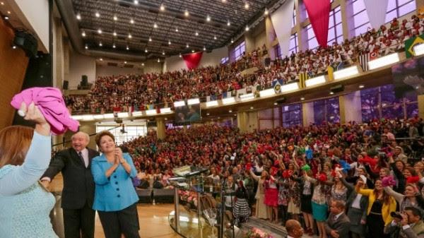 Dilma com evangélicos