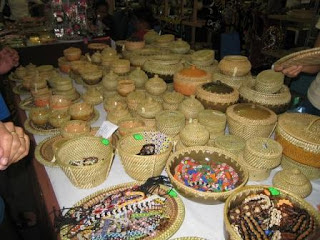 Weave Basket at Malaysia Craft Promotion