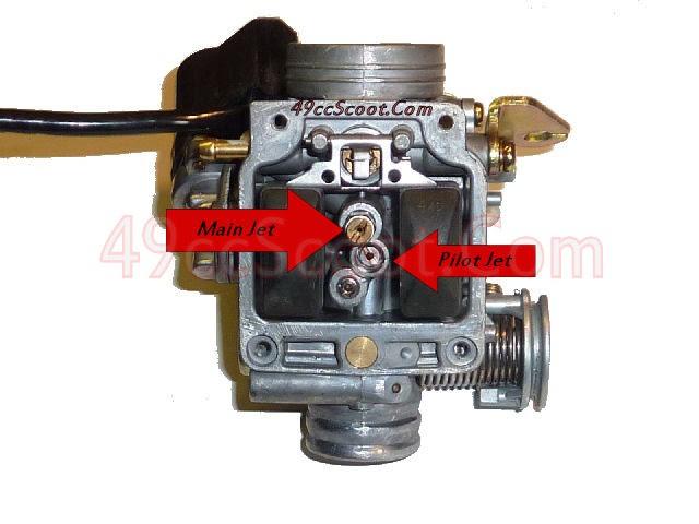 30 49cc Carburetor Diagram