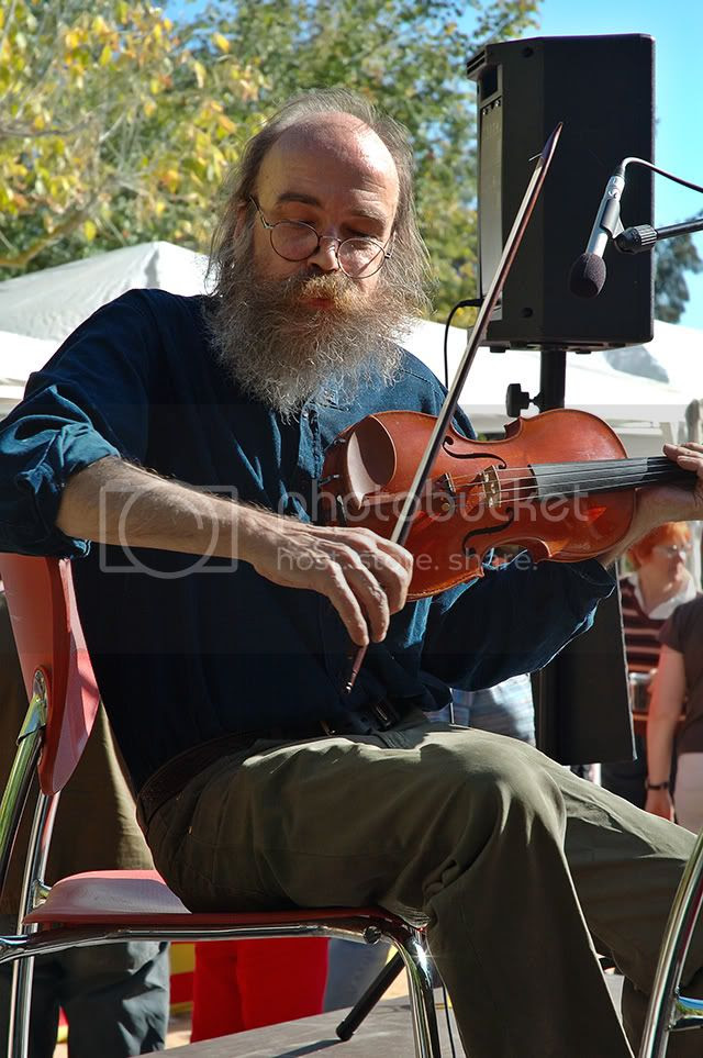 Musician Playin Celtic Melodies [enlarge]