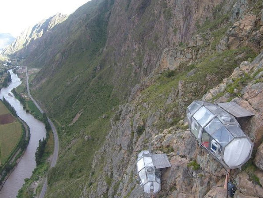 Peru's See-Through Pod Hotel Has A Terrifyingly Awesome View