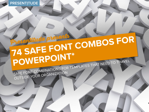 Safe Font Combos for PowerPoint - PRESENTITUDE™
