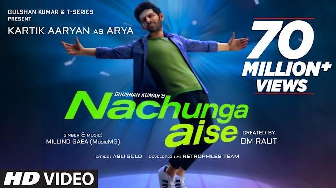 Nachunga Aise Lyrics by Millind Gaba feat Kartik Aaryan
