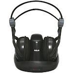 RCA 900MHz Wireless Stereo Headphones WHP141B