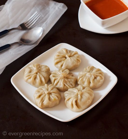 Veg Momos Recipe | Vegetable Momo Recipe With Step By Step Pictures