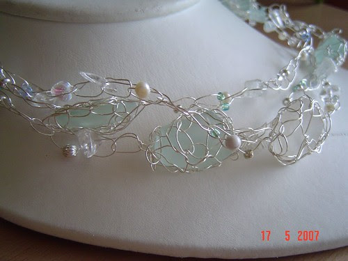 seaglass constellations necklace