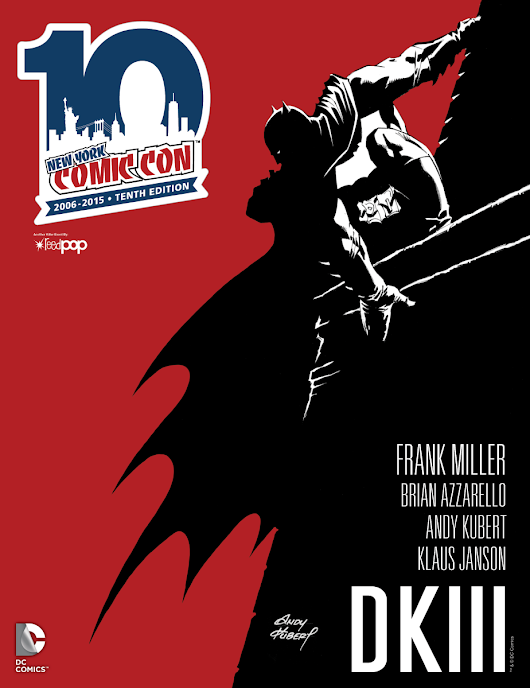#NYCC Program Cover Reveal: @DCComic's #DARKKNIGHT III: THE MASTER RACE! #BATMAN #NRW @NY_Comic_Con