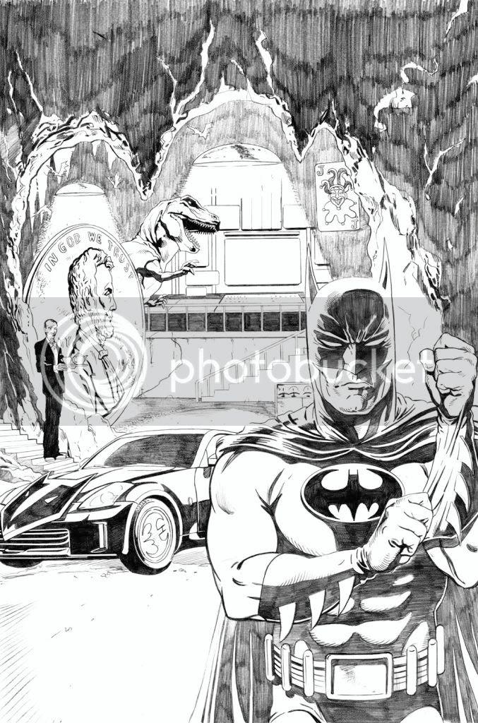 Illustration,comic,Graeme Neil Reid,BatMan