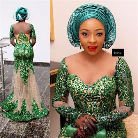 Lovely Wedding Guest Aso Ebi Styles   African women