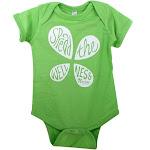 LuckyVitamin Gear Infant Onesie 18 Months Green