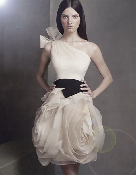 Get Chic Bridesmaids! With White by Vera Wang   OneWed