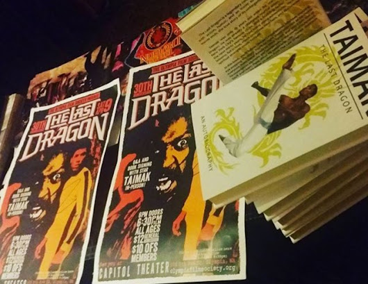 The Last Dragon National Tour & Taimak's Book Launch