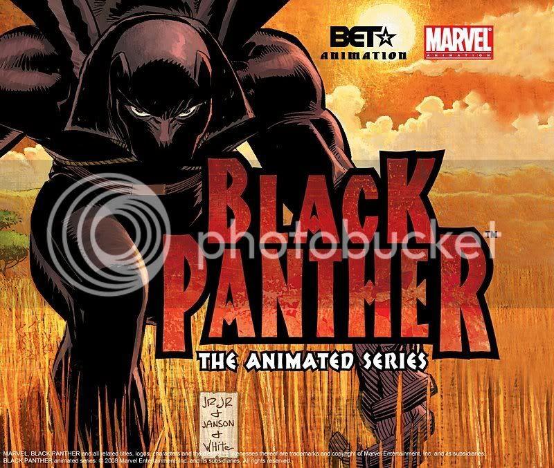 Animação do Pantera Negra