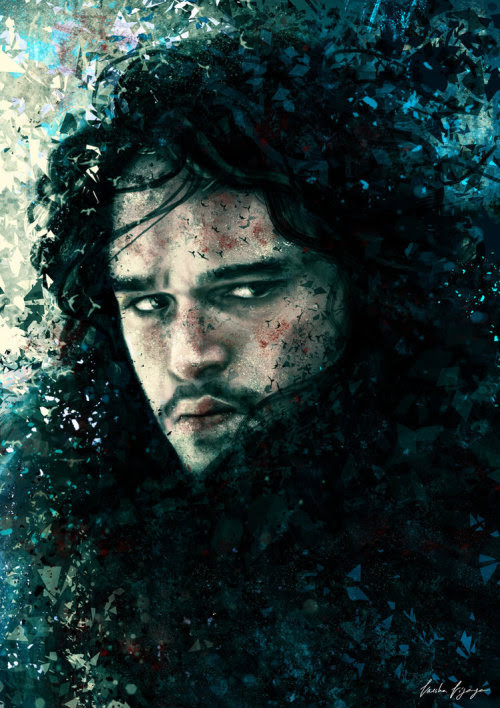 Game of Thrones Character Illustrations by Varsha Vijayan