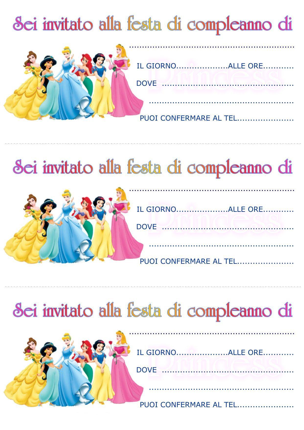 Popolare Biglietti Di Invito Compleanno Da Stampare MC52