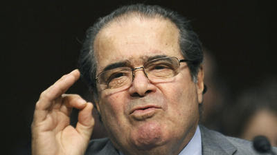 How Justice Scalia could become the savior of public employee unions