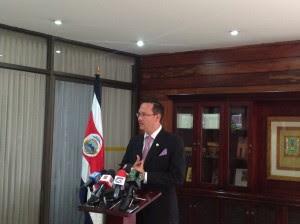 En la imagen Celso Gamboa, nuevo director de la DIS. CRH