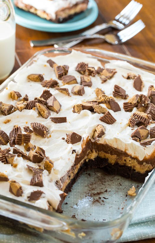 Chocolate Peanut Butter Casserole