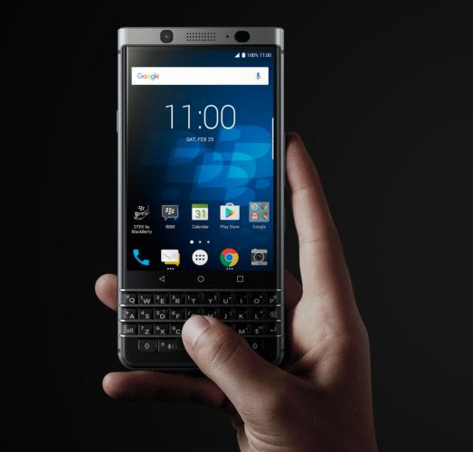 BlackBerry KeyOne smartphone features QWERTY keyboard, modern specs - Liliputing