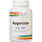 Solaray - Magnesium - 200 mg - 100 Capsules