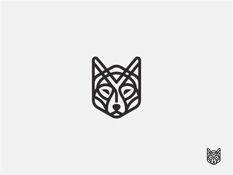 wolf logo designs ideas examples design trends