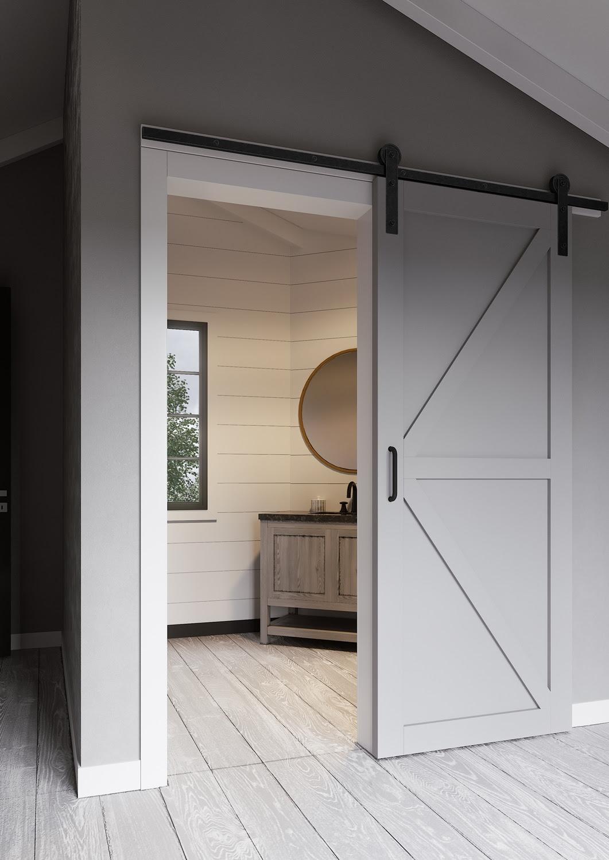 Door Grey Barn Door