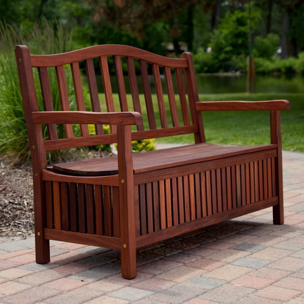 outdoor benches deck box bench seat