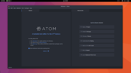 Atom is now available as a snap for Ubuntu