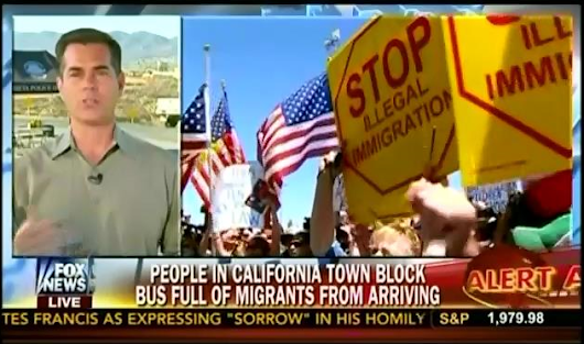 "Fox Baselessly Stokes Fears That ""Busloads"" Of Immigrants Are Inundating Small Towns"