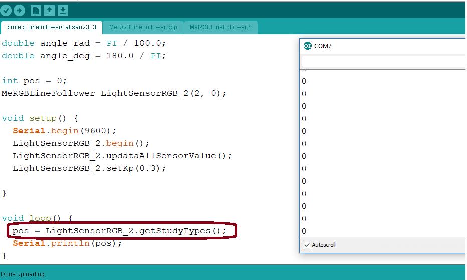 RGB Line Follower sensor - mBot - Makeblock Forum