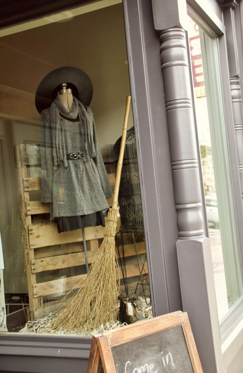 25 Examples of Halloween Retail Displays to Inspire You - Witch Outfit Fashion Showcase - Halloween Retail Displays - Halloween Retail Ideas - Halloween Display Ideas