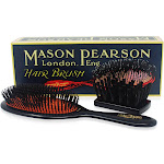 Mason Pearson Extra Small Pure Bristle Brush - #B2 Dark Ruby